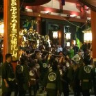 毎年3月17日  三社様と観音様がひと晩対面する為の「堂上げ」がスゴイ!